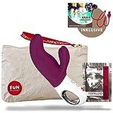 Fun Factory Sex Spielzeug für sie und ihn | 'G5 Sammlung' Wiederaufladbare - Dual Vibratoren Für Sie - Sexspielzeug für Frauen und Sexspielzeug für Mann (Miss BI Violett Set)