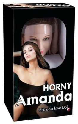 """Liebespuppe """"Horny Amanda"""" mit 3D-Gesicht und Vibroei"""