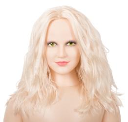 """Liebespuppe """"Hot Lucy"""" mit 3D-Gesicht und Vibroei"""